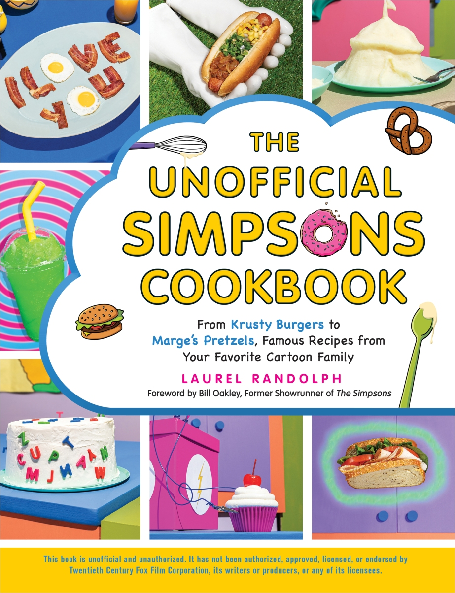 Unofficial Simpsons Cookbook Cover
